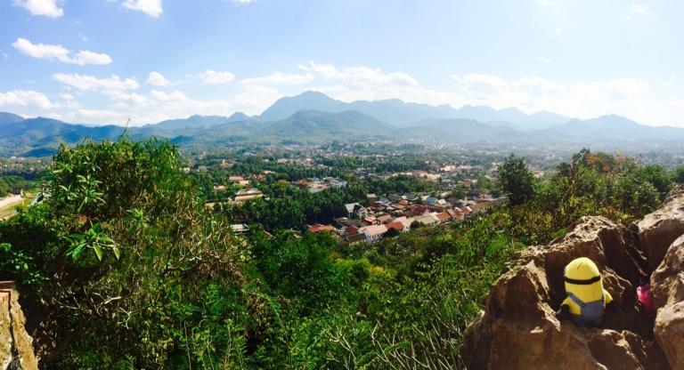 Panorama von Luang Prabang