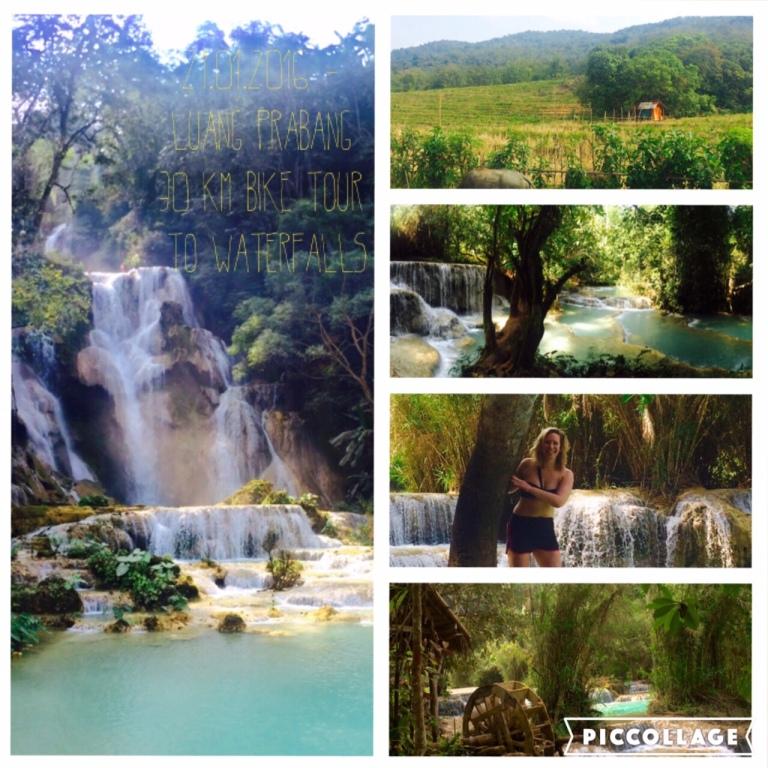 30 km Radtour zum Wasserfall