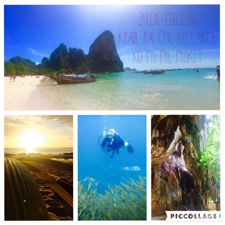 White beaches, karst rocks and a beautiful underwater world