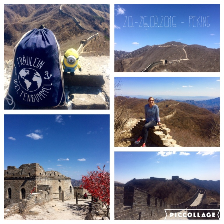Beautiful view at Great Wall in Mutianyu