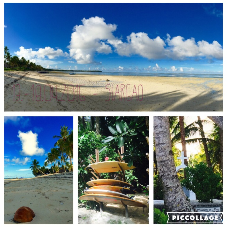 Mal wieder eine Kokosnuss, Surfboards als Hotelausstattung und ein Friedhof unter Palmen mit Meerblick