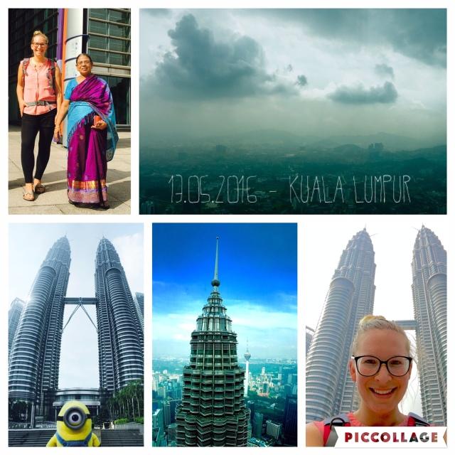 Stopover in Kuala Lumpur und rauf auf die Petronas Towers