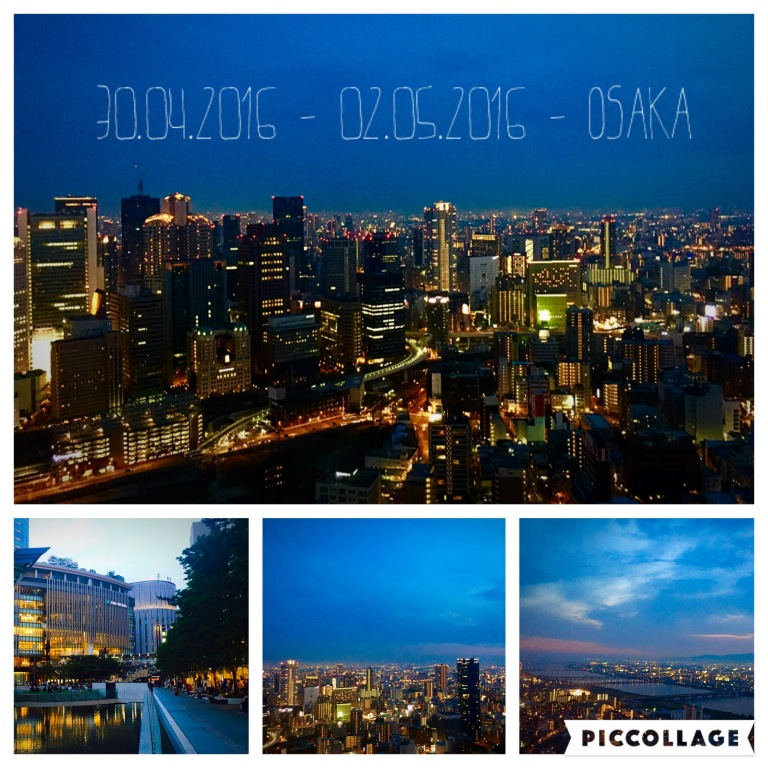 Blick from Umeda Sky Building in Osaka
