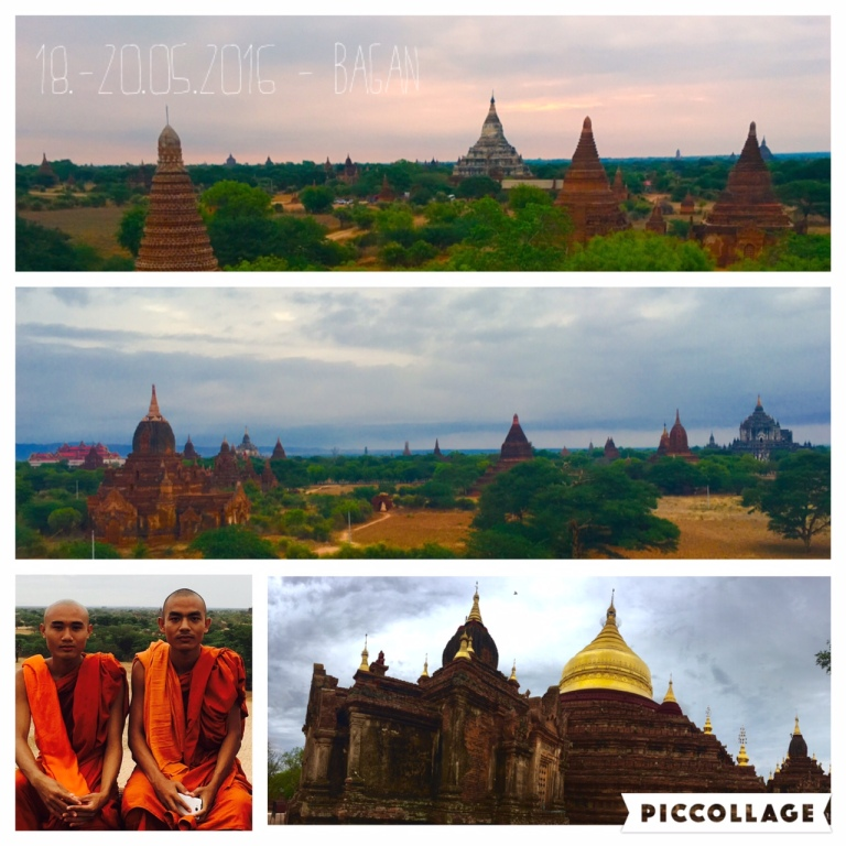 Großartiges Tempel-Panorama in Bagan