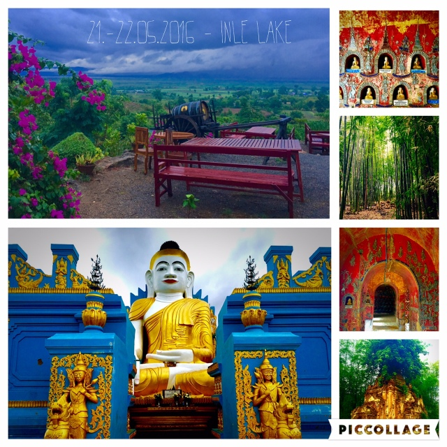 Vinery, bamboo forests and temples around Inle Lake