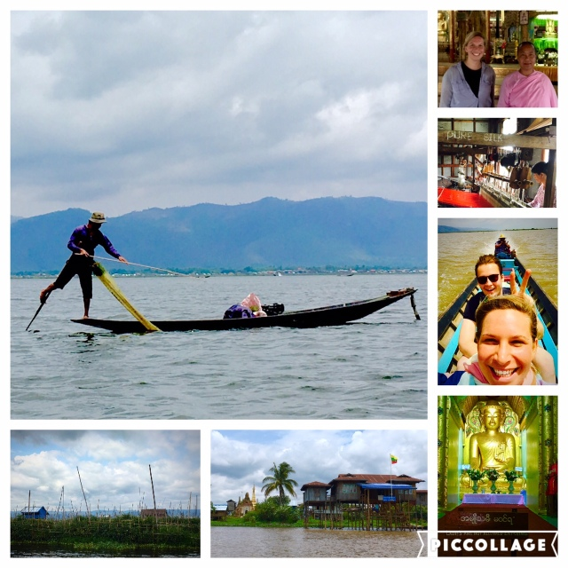 Nature at Inle Lake - chilled out sightseeing by boat with Frederik from Cologne