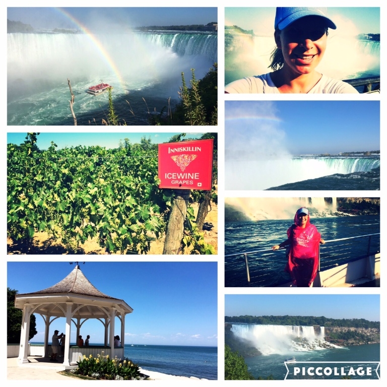 Niagara falls - a pretty wet adventure