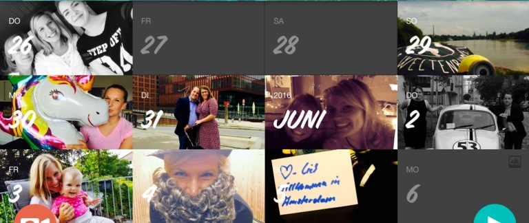 June - at home in Europe (Germany, Netherlands, France, Italy, Switzerland, Spain)