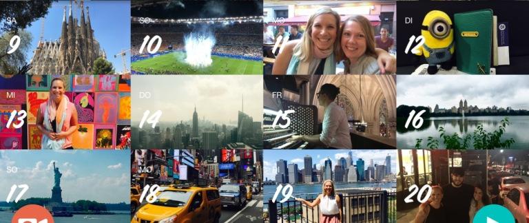 Juli - Euro2016 in Frankreich, New York City und Canada