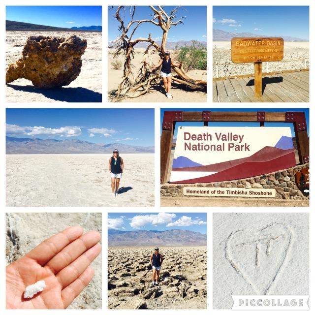 Fast 40 Grad im Death Valley