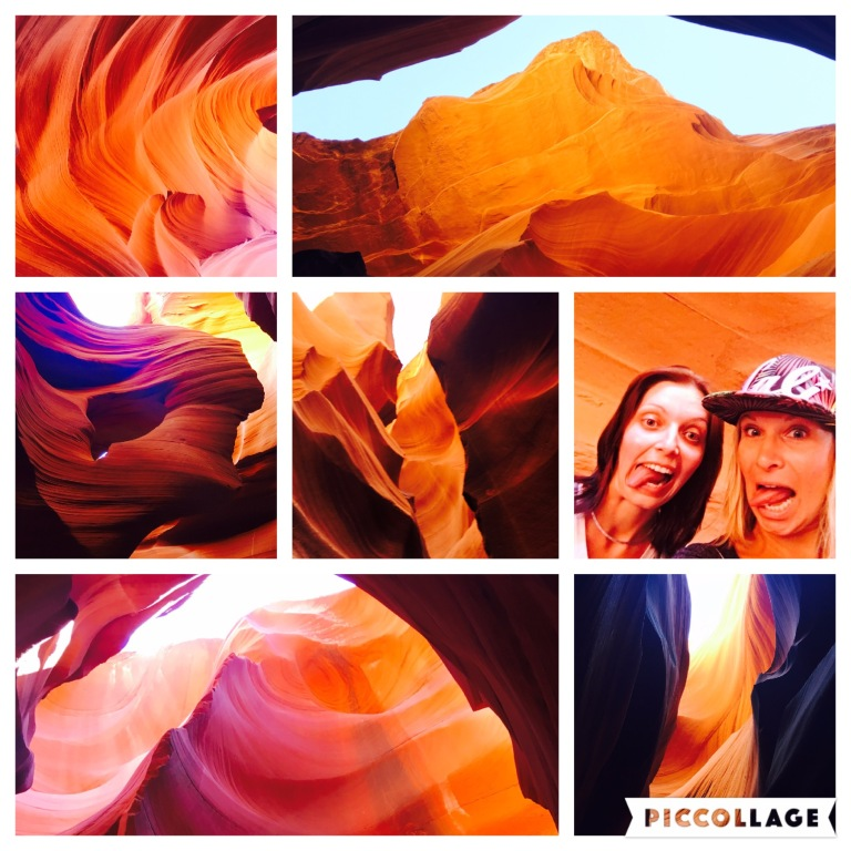 Antelope Canyon - Wundervolle Lichtspiele