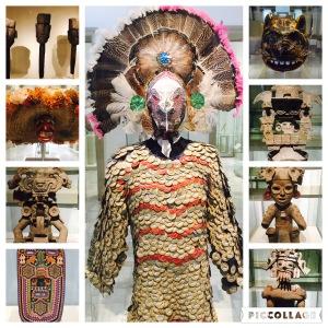 Mask exhibition in Mérida