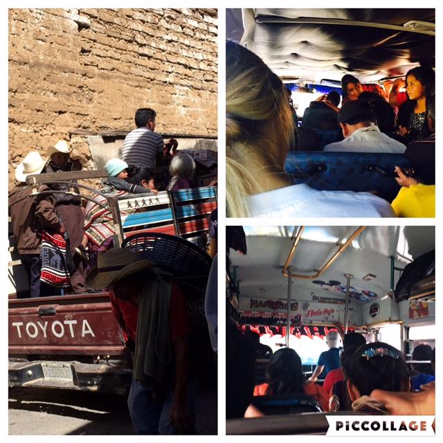 Public transport in Guatemala