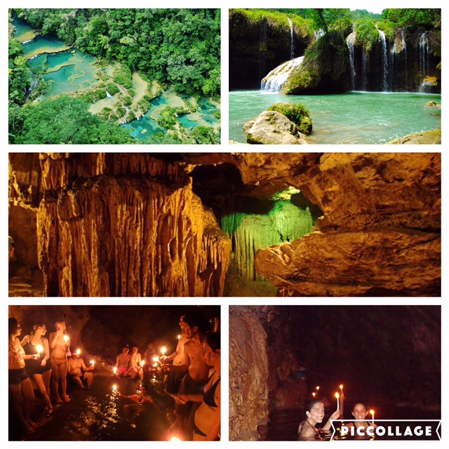 Semuc Champey and the cave tour