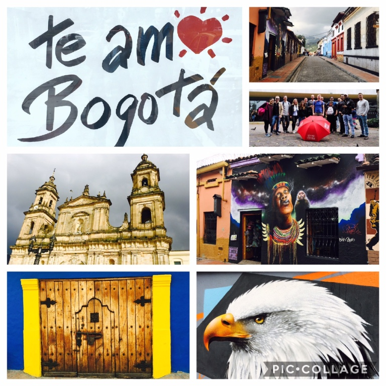 Walking tour in Bogota