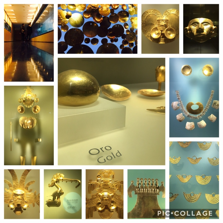 Gold museum in Bogota - a MUST