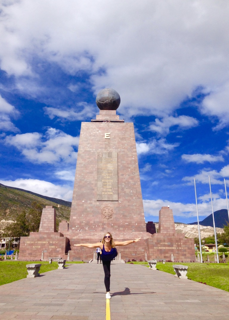 Mitad del Mundo - memorial for the middle of the world
