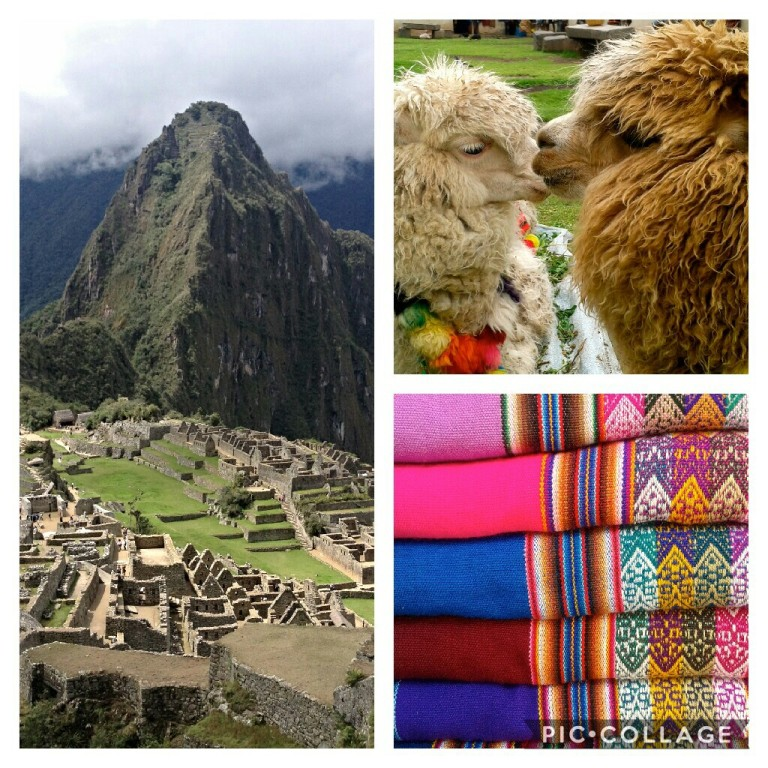 Peru - Machu Pichu, Alpakas and colorful patterns